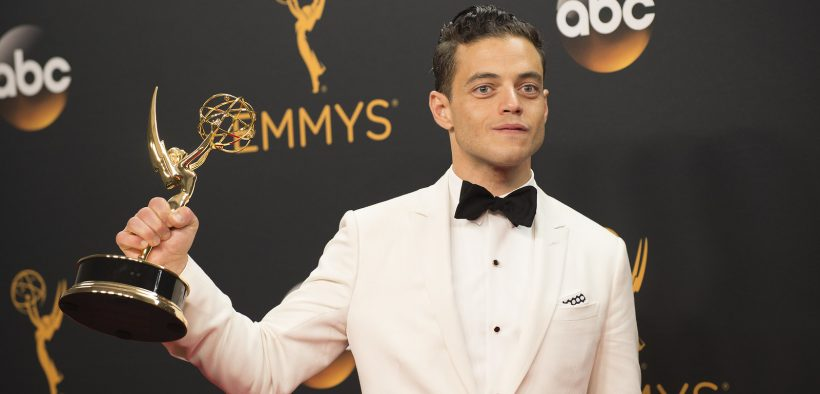 Rami Malek at the the 68th Emmy Awards. (Photo: Walt Disney Television)