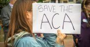 """Salve o Rally da ACA"" em apoio ao Affordable Care Act, na Casa Branca, Washington, DC, EUA. (Foto: Ted Eytan)"
