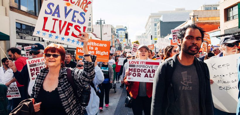 Los Angeles Medicare for All Rally, 2017. (Photo: Molly Adams)