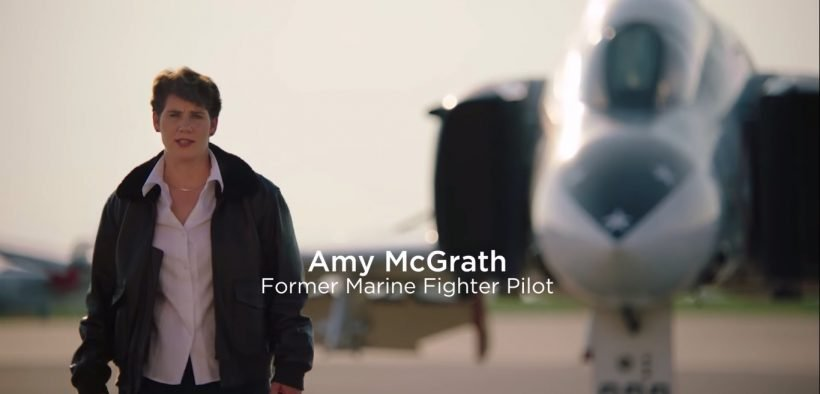 Amy McGrath for Congress campaign video. (Photo: YouTube)