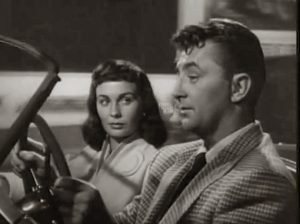 "Robert Mitchum and Jean Simmons in 1953's ""Angel Face"""