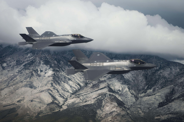 F 35A Fighter Jets
