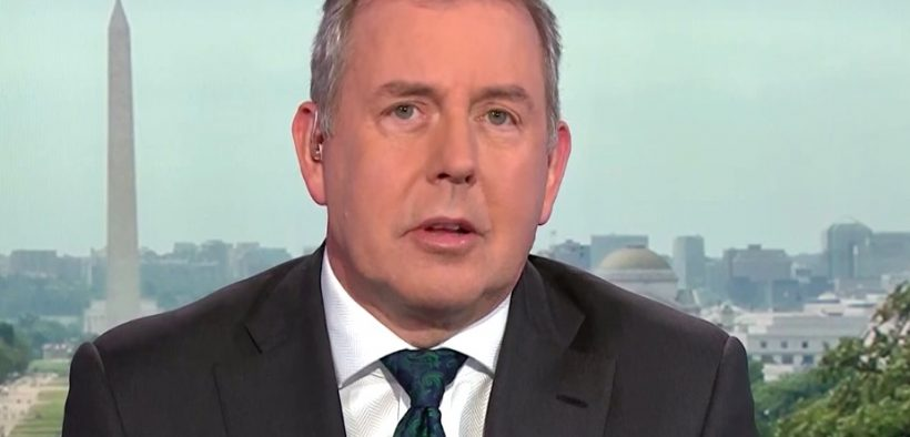 Kim Darroch in an interview with Bloomberg News. (Photo: YouTube)