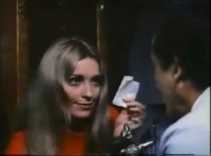 "Sharon Tate in 1969's ""Twelve Plus One""."