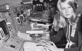 "Frances ""Poppy"" Northcutt working at NASA. (Photo: YouTube)"