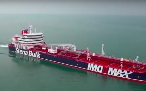The Stena Impero, British tanker. (Photo: YouTube)