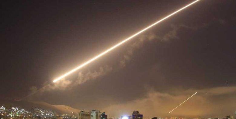 Syrische Luftangriffe