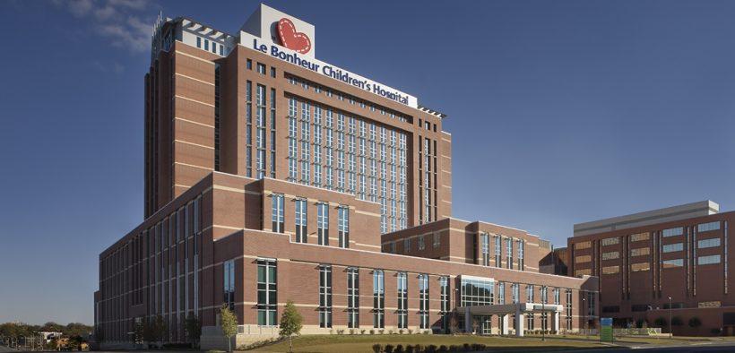 Methodist Le Bonheur Children's Hospital, Memphis, Tennessee. (Photo: Methodist Le Bonheur website)
