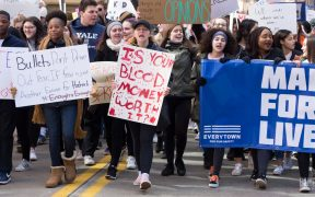 March For Our Lives in Pittsburgh on March 24, 2018.