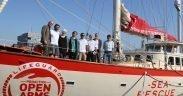 The Open Arms migrant rescue boat run by Spanish charity Proactiva. (Photo: Ajuntament Barcelona)