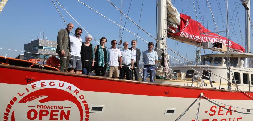 Das von der spanischen Wohltätigkeitsorganisation Proactiva betriebene Migrantenrettungsboot Open Arms. (Foto: Ajuntament Barcelona)