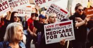 Medicare for All Rally Los Angeles - февраль 2017