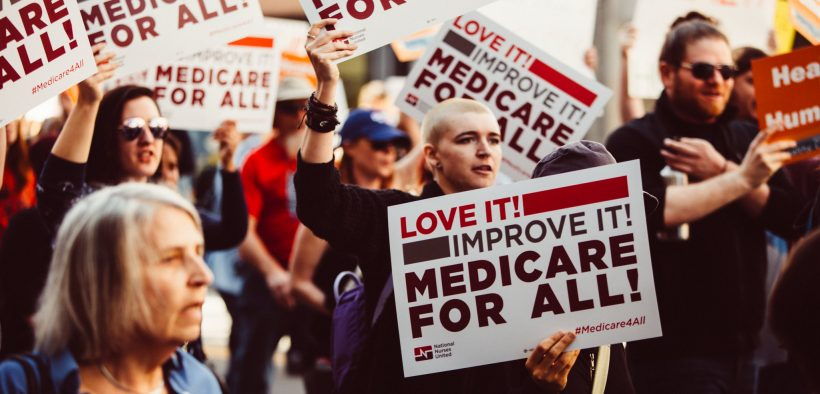 Medicare for All Rally Los Angeles - Feb 2017