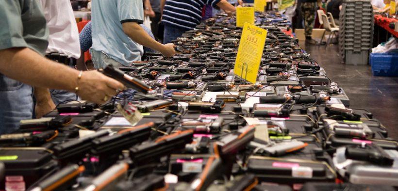 Show de armas de Houston, Texas. Data: março 24, 2007. (Foto: M & R Glasgow)