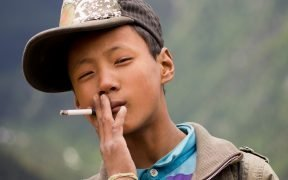 15 year old boy, near Yading, Sichuan province. July, 2011.