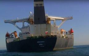 Le pétrolier Grace 1 lève le drapeau iranien et modifie son nom en 'Adrian Darya-1'
