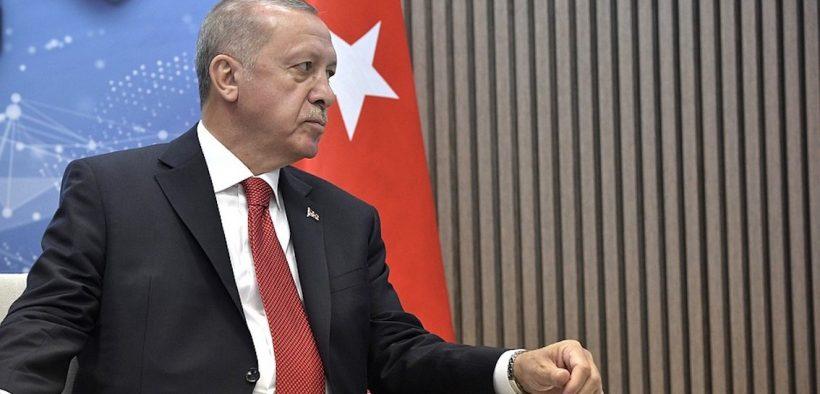 Président de la Turquie Recep Tayyip Erdogan.