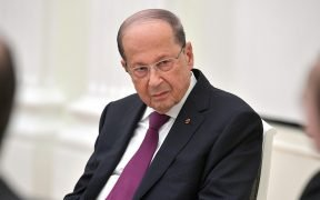 President of the Lebanese Republic Michel Aoun.