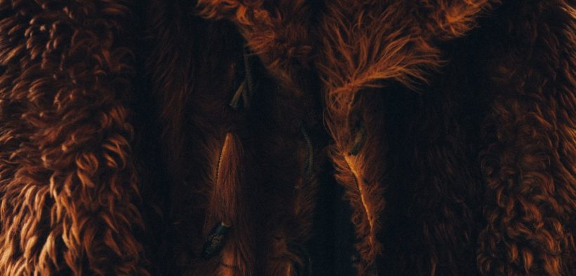 Abrigo de piel marrón. (Foto: Clem Onojeghu)