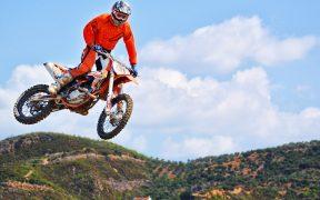 Motocross Dirt Bike Fahrer