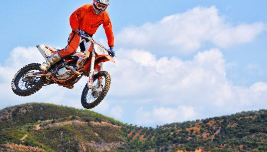 motocross dirt bike rider