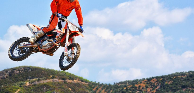 motocross dirt bike rider