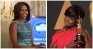 Michelle Obama en Viola Davis