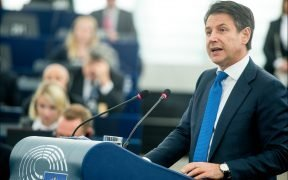 Prime Minister Giuseppe Conte at the European Parliament presented on February 12, 2019 his vision on the #FutureofEurope in a debate with MEPs. (Photo: CC-BY-4.0: © European Union 2019 – Source: EP)