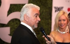 John O'Hurley on the red carpet at Celebrity Fight Night XXV at the JW Marriott Desert Ridge Resort & Spa in Phoenix, Arizona.