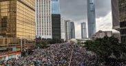 Protest gegen Auslieferungsgesetze in Hongkong
