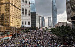 Протест против закона о выдаче в Гонконге