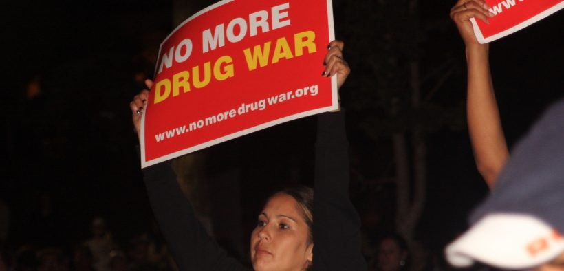Rally & Concert to End the War on Drugs - MacArthur Park, Los Angeles. November 3, 2011.
