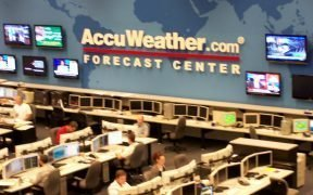 AccuWeather Forecast Center.