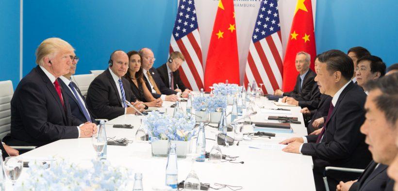 Il presidente Donald J. Trump e il presidente Xi Jinping | Luglio 8, 2017 (Foto: Shealah Craighead)