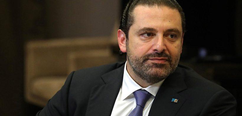 Primeiro Ministro do Líbano Saad Hariri.