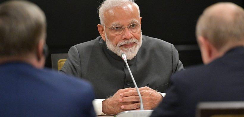 Primeiro Ministro da Índia Narendra Modi.