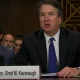 Brett Kavanaugh lors de son audition au sujet des allégations d'agression sexuelle de Christine Blasey Ford. (Photo: YouTube)