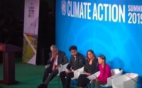 """16-year-old climate activist Greta Thunberg delivers an emotional speech at the U.N. climate summit on Monday, chiding leaders with the repeated phrase, """"How dare you?"""" (Photo: YouTube screenshot)"""