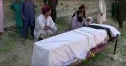 Los trabajadores de piñones 30 murieron en una huelga de drones en Afganistán mientras descansaban en una hoguera. (Foto: YouTube)