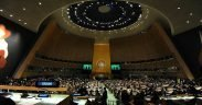 70th session of the UN General Assembly, September 2015. (Photo: Kremlin.ru)