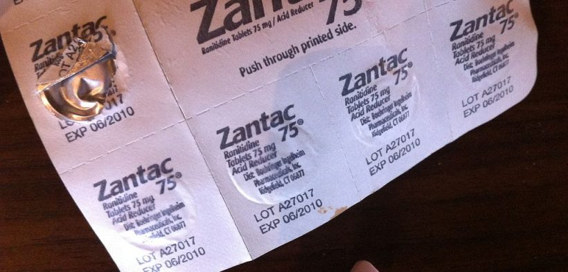 Zantac Pill and Pill Pack