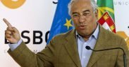 Antonio Costa in 2012 who was then the Mayor of Lisbon, Portugal.