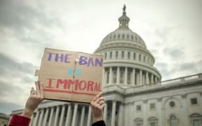January 2017 Muslim ban protest in Washington D.C.