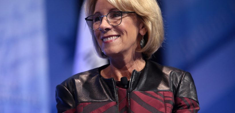 fraudulent student loans and U.S. Secretary of Education Betsy DeVos