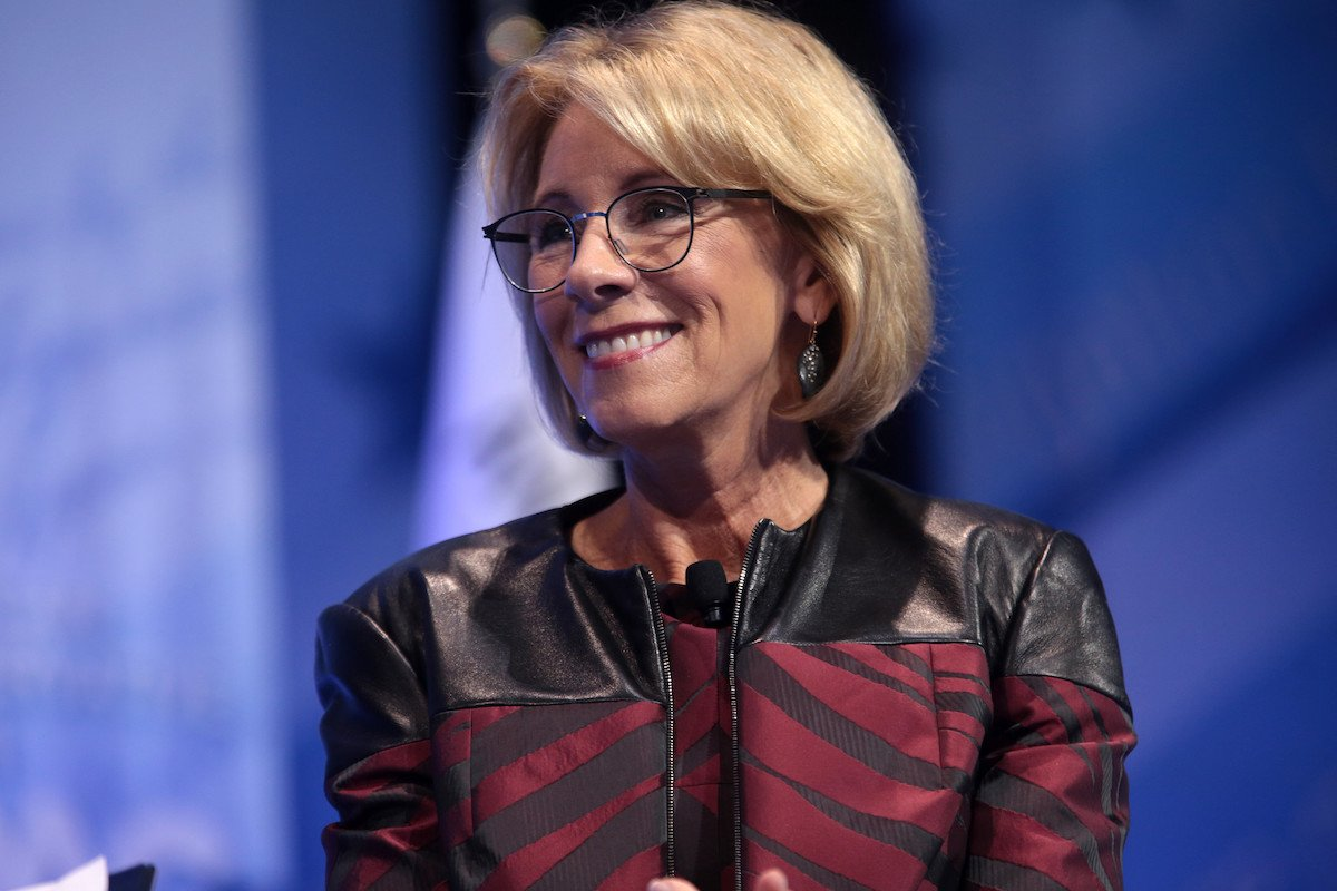 Judge Blasts Betsy Devos For Violating Order On Fraudulent Student Loans