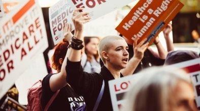 सभी रैली लॉस एंजिल्स के लिए चिकित्सा - फरवरी, एक्सएनयूएमएक्स।