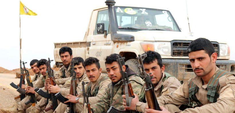 Kurdish YPG Fighters. March 16, 2018. (Photo: KurdishStruggle, Flickr)