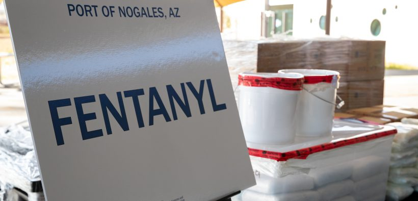 U.S. Customs and Border Protection officers at the Nogales Commercial Facility seized nearly $4.6 million in fentanyl and methamphetamine totaling close to 650 pounds on Saturday, January 26, 2019. (Photo: CBP. Jerry Glaser)