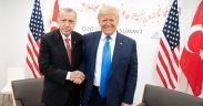 President Donald J. Trump participates in a bilateral meeting with President of the Republic of Turkey Recep Tayyip Erdogan at the G20 Japan Summit Saturday, June 29, 2019, in Osaka, Japan. (Official White House Photo by Shealah Craighead)