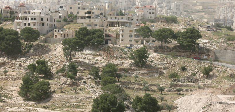 Har Homa, officially Homat Shmuel, is an Israeli settlement in southern East Jerusalem, near Beit Sahour.